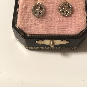 Juicy Couture Peace Sign Earrings